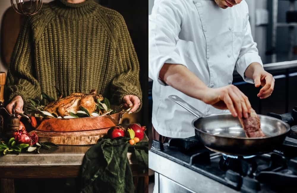 cooking experience - copper vs stainless steel cookware