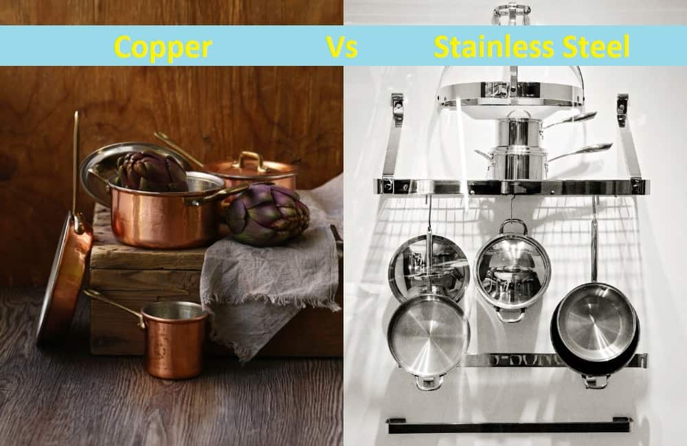 difference between copper stainless steel cookware