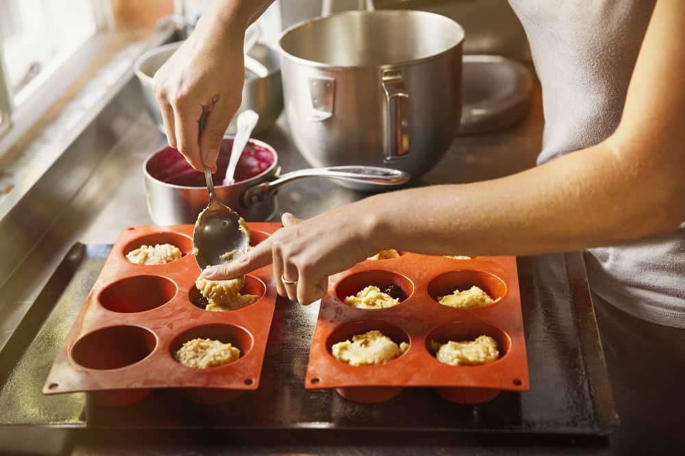 silicone cookware doesn't have effect on food's taste